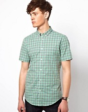Camisa a cuadros pequeos de Ben Sherman