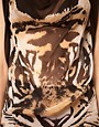 Image 3 ofTraffic People Sheer Top With Tiger Print