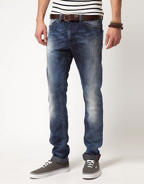 Image 1 ofDiesel Shioner 885B Feel Good Slim Jeans