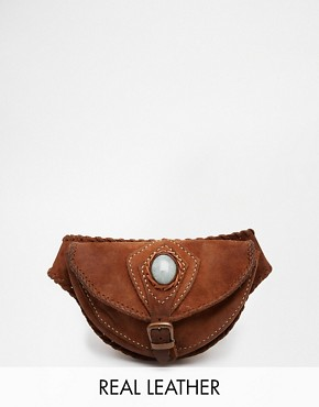 Hiptipico Leather Hand Crafted Festival Bum Bag