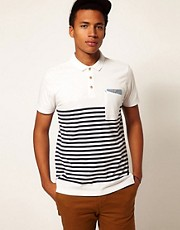 Boxfresh Polo Breton Stripe Kaashiff