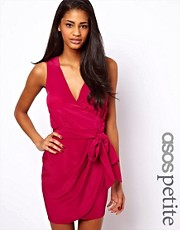ASOS PETITE Sleeveless Wrap Dress