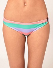 River Island Candy Stripe Bikini Briefs
