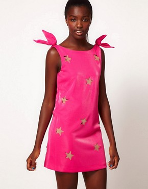 Image 1 ofThree Floor Star Catcher Shift Dress