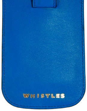 Image 3 ofWhistles Exclusive to ASOS Leather Iphone Case