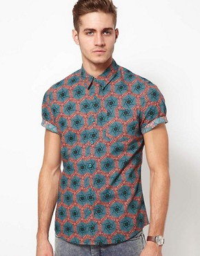 Image 1 ofASOS Printed Shirt