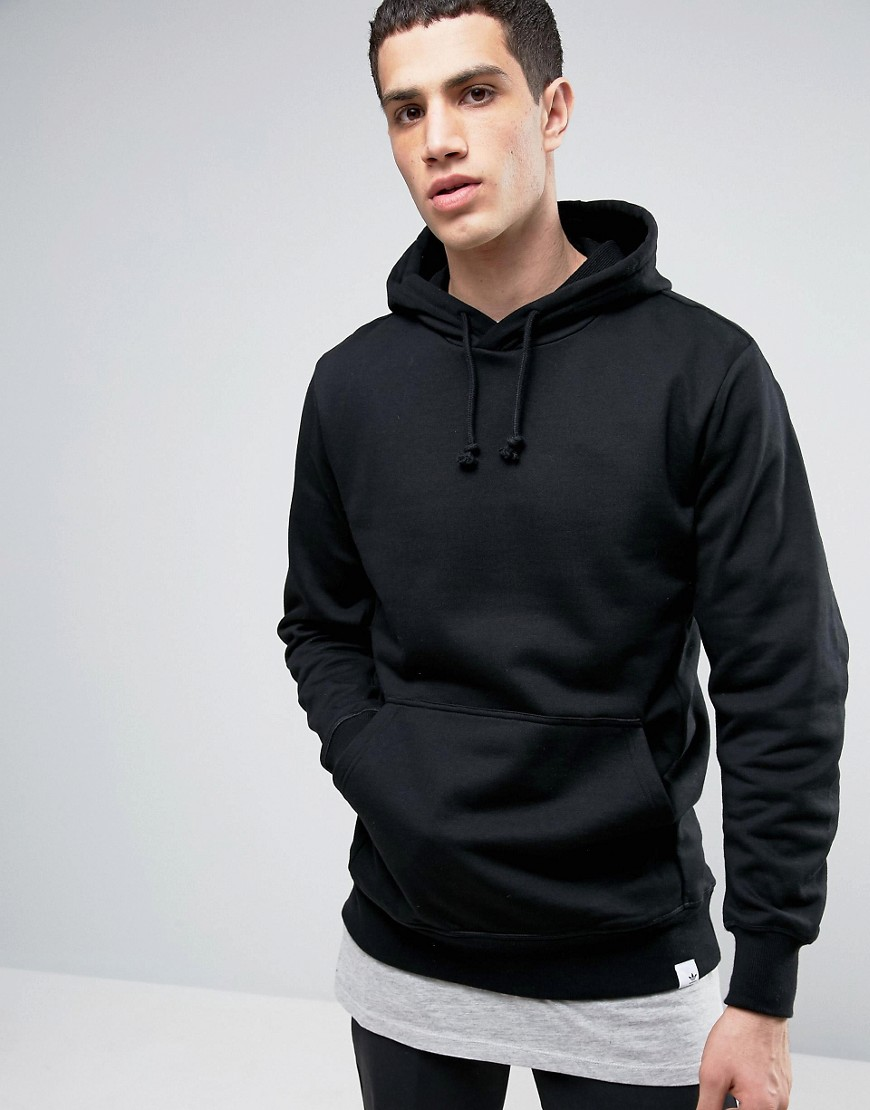 adidas Originals X By O Pullover Hoodie In Black BQ3087 - Black