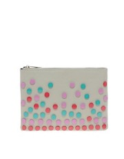 ASOS Clutch Bag With Enamel Studs