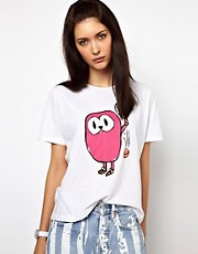 Lulu &amp; Co Tee with Tennis Owl