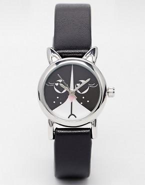 ASOS Monochrome Cat Watch