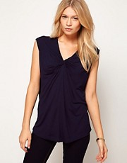 ASOS Top with Twist Neck Front