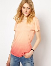 Vila Dip Dye T-Shirt