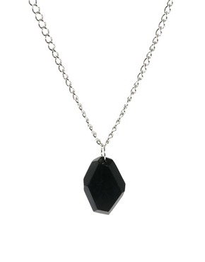 Image 1 ofASOS Faceted Necklace