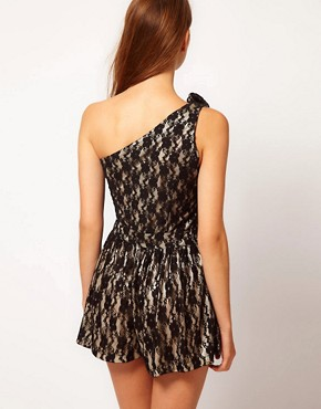 Image 2 ofYumi Lace Playsuit