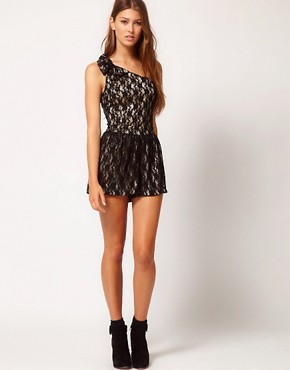 Image 4 ofYumi Lace Playsuit