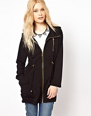 River Island - Parka multitasche