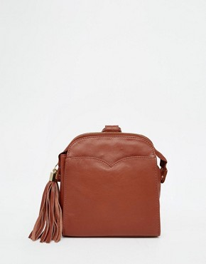 ASOS Leather Mini Vintage Backpack