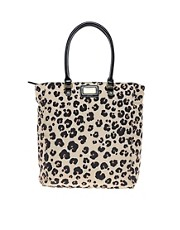 Moschino Cheap &amp; Chic Aminal Print Shopper
