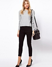 ASOS Crop Pants in Twill
