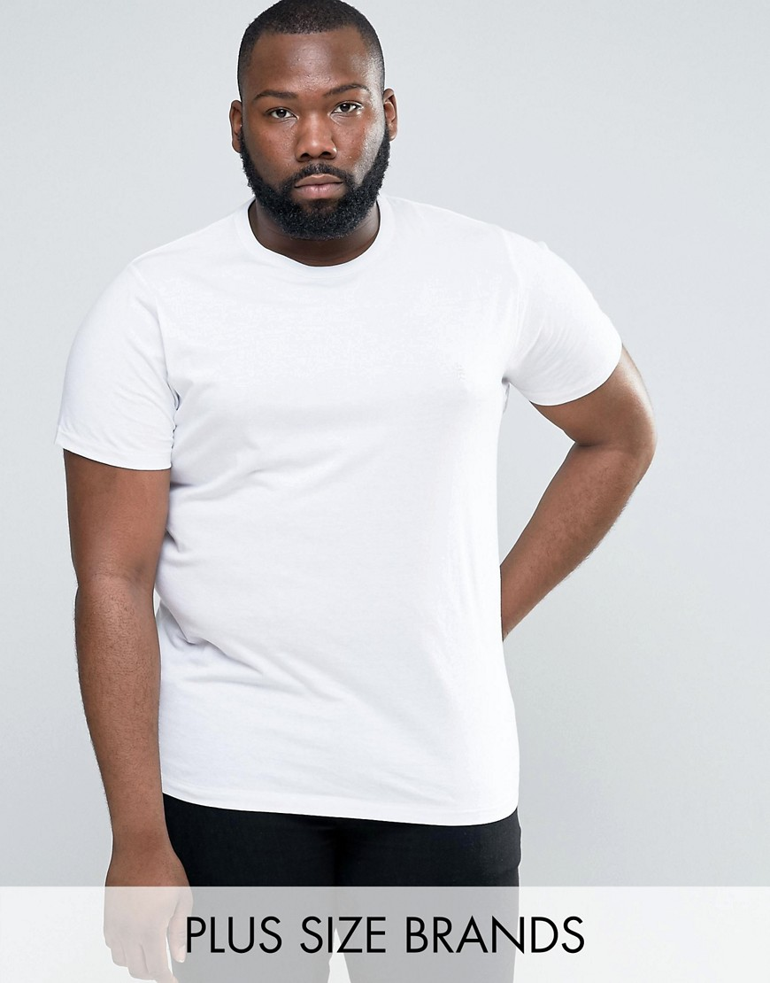 French Connection PLUS Logo T-Shirt - White