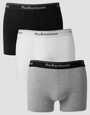 Polo Ralph Lauren Stretch Cotton 3 Pack Trunks