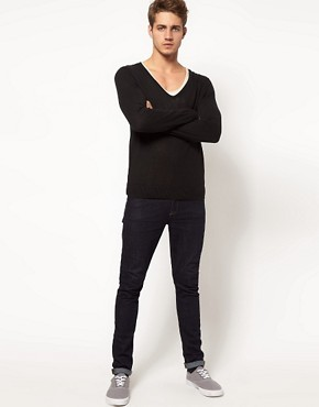 Image 4 ofASOS V Neck Jumper