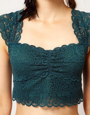 Image 3 ofFree People Lace Cropped Bustier