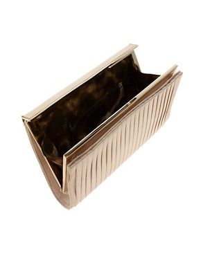 Image 2 ofKaren Millen Pleated Satin Clutch