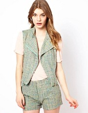 See U Soon - Gilet in tweed