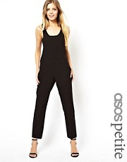 ASOS PETITE  Exklusiver Overall mit tiefem Armausschnitt
