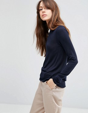 ASOS Jumper With Crew Neck in Soft Yarn