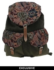 Reclaimed Vintage Floral Backpack