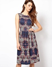 Club L Printed Smock Dress