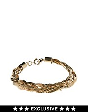 Susan Caplan Exclusive For ASOS Vintage 90s Slinky Plait Bracelet