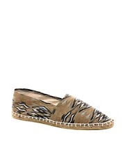ASOS Espadrilles With Ethnic Print