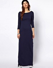 Superdry Scoop Back Maxi Dress