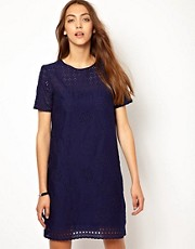 Whistles Petal Broderie Dress