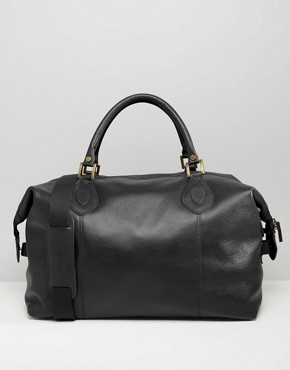 Barbour Leather Holdall