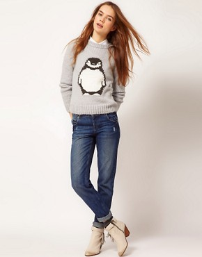 Image 4 ofA Wear Penguin Jumper