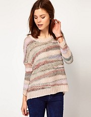 Warehouse Wavy Yarn Jumper