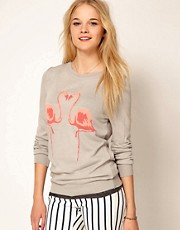 A Wear Flamingo Jumper