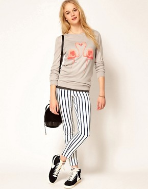 Image 4 ofA Wear Flamingo Jumper