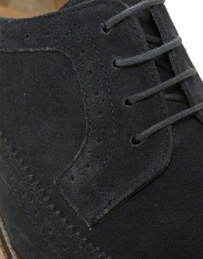 Image 2 ofASOS Brogues in Suede