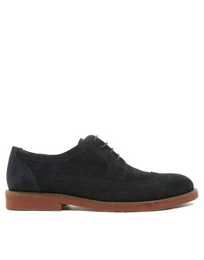 Image 4 ofASOS Brogues in Suede