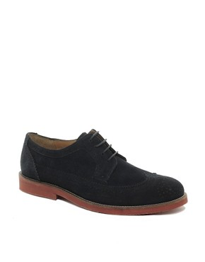 Image 1 ofASOS Brogues in Suede