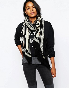 River Island Shattered Glass Scarf