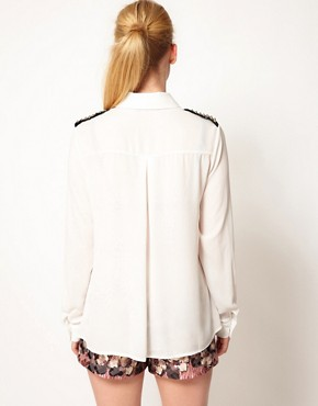 Image 2 ofSister Jane Stud Shoulder Blouse