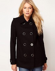 ASOS - Cappotto doppiopetto