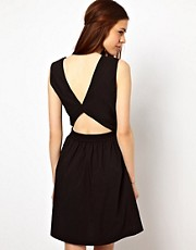 Just Female Open Back Dress