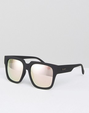 Quay Australia On The Prowl Sunglasses with Mirror Lens
